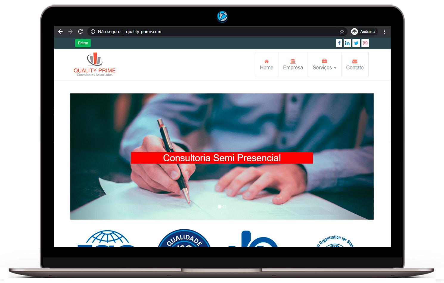 criação de sites para consultoria