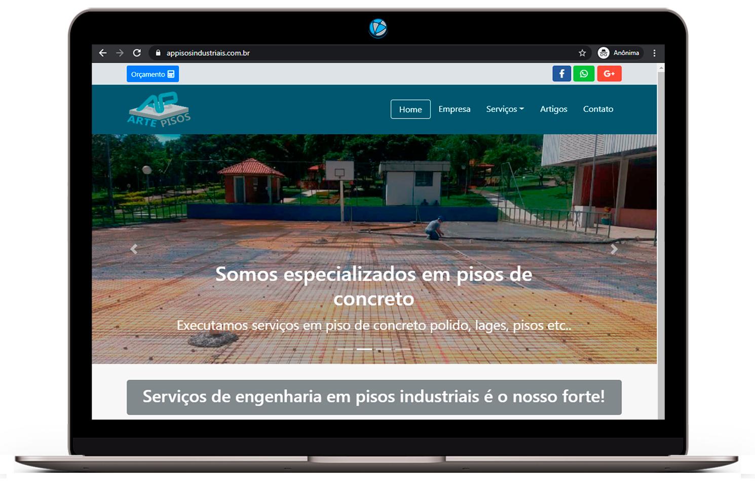 criação de sites para engenharia civil