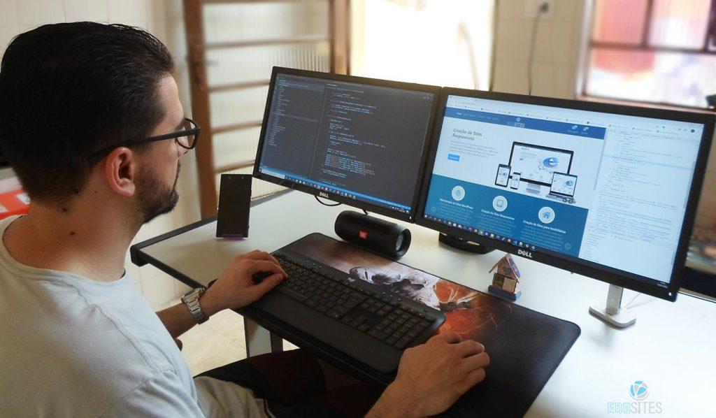 Web designer freelancer em criação de sites